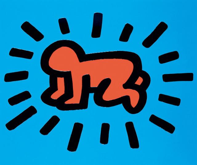 2. 키스 해링, 아이콘, 엠보싱 용지에 실크스크린, 53.5x63.5cm. 키스 해링 재단 제공_수정.jpg